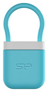 Флешка USB SILICON POWER Unique 510 16Гб, USB2.0, голубой [sp016gbuf2510v1b]