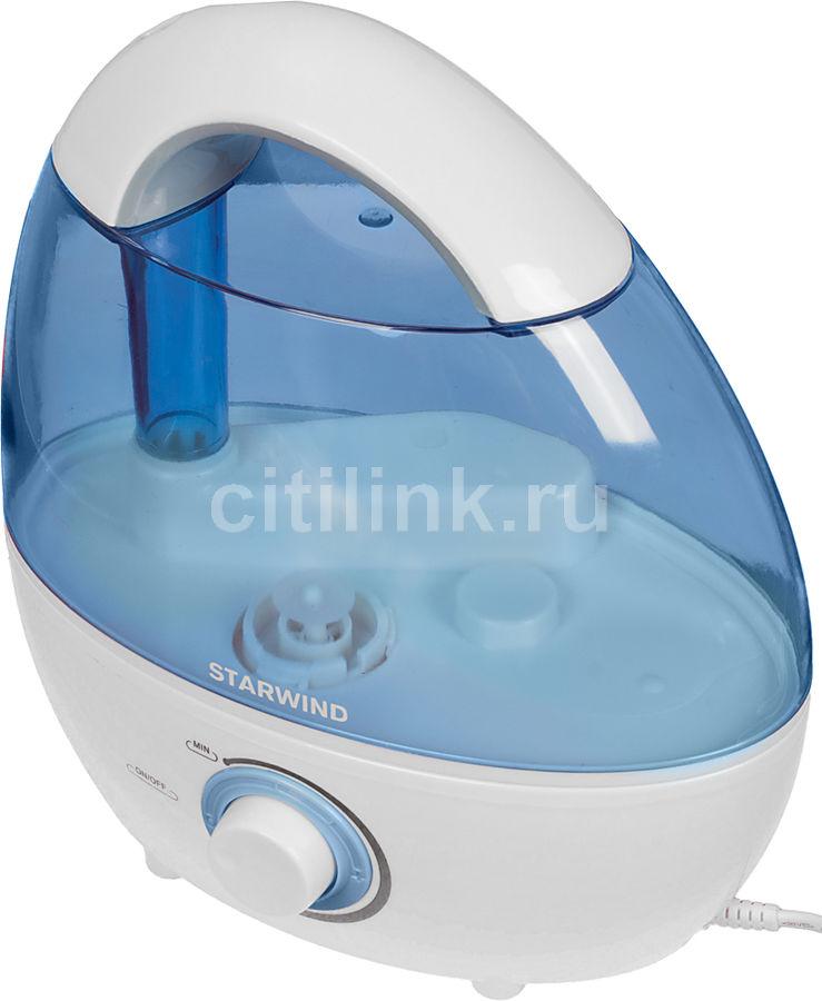 Увлажнитель воздуха STARWIND SHC2216,  белый  / синий