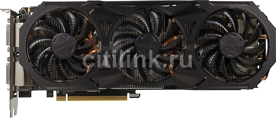 Видеокарта GIGABYTE GeForce GTX 960,  GV-N960G1 GAMING-4GD,  4Гб, GDDR5, OC,  Ret
