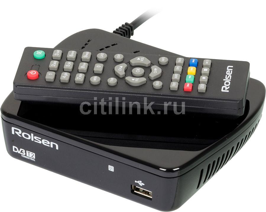 Ресивер DVB-T2 ROLSEN RDB-514A,  черный [1-rldb-rdb-514a]