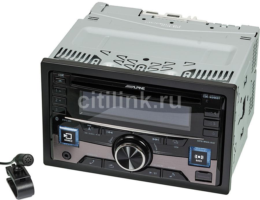 Автомагнитола ALPINE CDE-W296BT,  USB