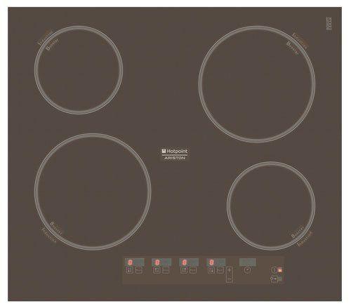 Варочная поверхность HOTPOINT-ARISTON KIC 644 C (CF),  индукционная,  независимая,  коричневый
