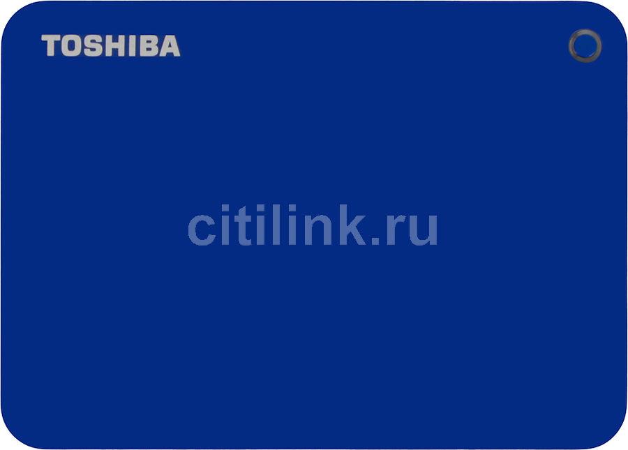 Внешний жесткий диск TOSHIBA Canvio Connect II HDTC810EL3AA, 1Тб, синий