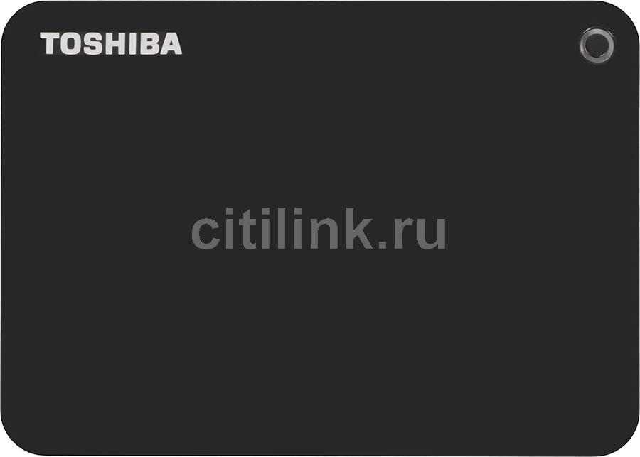 Внешний жесткий диск TOSHIBA Canvio Connect II HDTC820EK3CA, 2Тб, черный