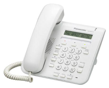 IP телефон PANASONIC KX-NT511PRUW