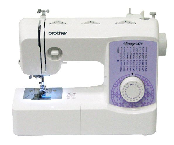 Швейная машина BROTHER Vitrage M79 белый