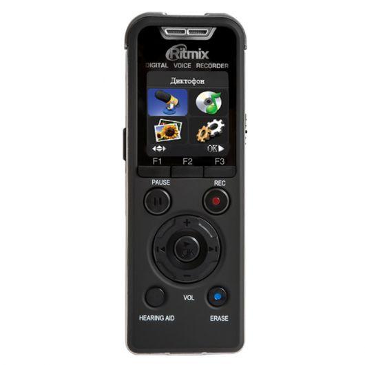 Диктофон RITMIX RR-980 8 Gb,  черный [15117595]