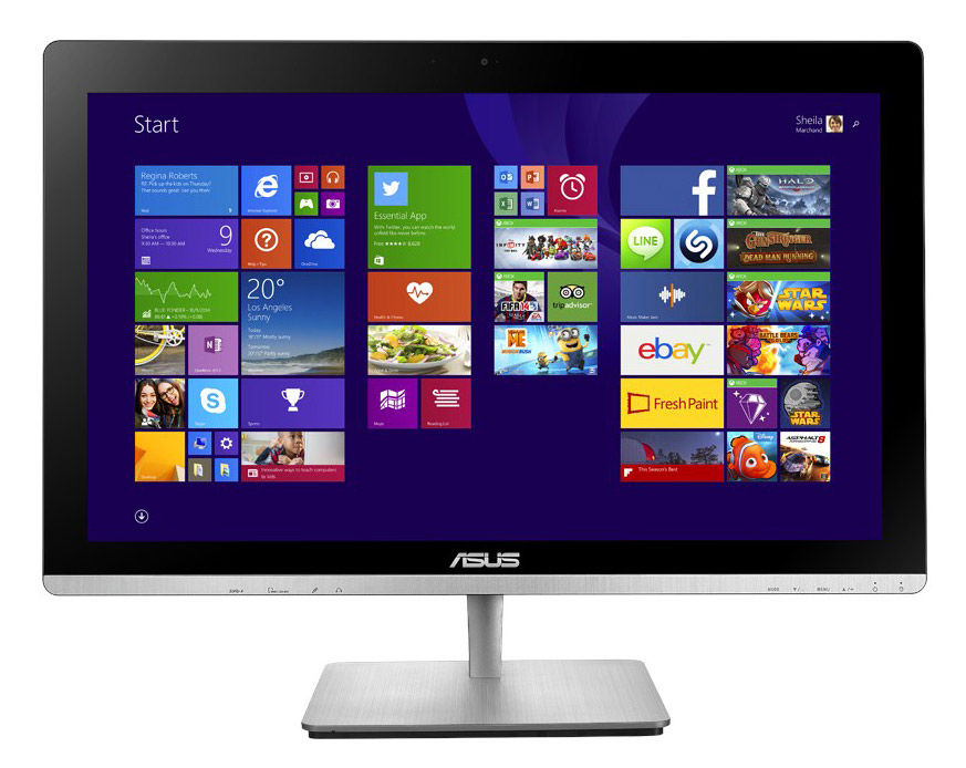Моноблок ASUS ET2323INK-BC005R, Intel Core i5 5200U, 4Гб, 1000Гб, nVIDIA GeForce 840M - 1024 Мб, DVD-RW, Windows 8.1, черный [90pt0111-m02010]