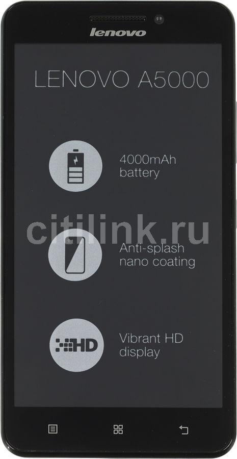 Смартфон LENOVO A5000  8Gb, черный