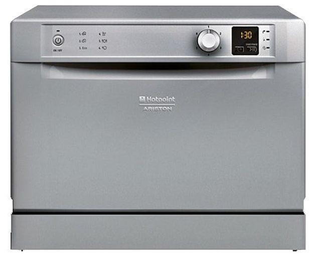 Посудомоечная машина HOTPOINT-ARISTON HCD 662 S EU,  компактная, серебристая