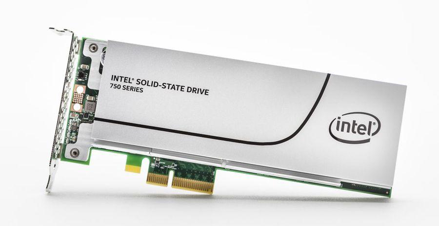 SSD накопитель INTEL 750 Series SSDPEDMW012T4R5 1.2Тб, PCI-E AIC (add-in-card), PCI-E x4 [ssdpedmw012t4r5 939235]