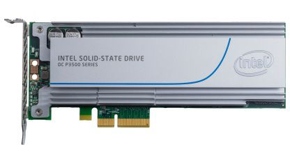 Накопитель SSD INTEL DC P3500 SSDPEDMX400G401 400Гб, PCI-E AIC (add-in-card), PCI-E x4 [ssdpedmx400g401 937525]