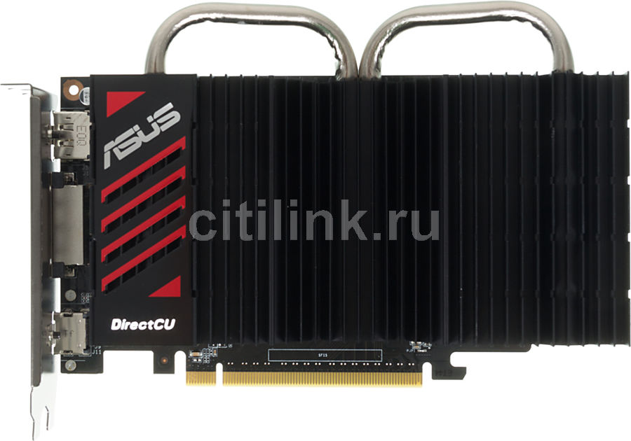 Видеокарта ASUS GeForce GTX 750,  GTX750-DCSL-2GD5,  2Гб, GDDR5, Ret