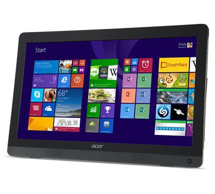 Моноблок ACER Aspire ZC-606, Intel Pentium J2900, 4Гб, 1000Гб, Intel HD Graphics, DVD-RW, Windows 8.1, черный [dq.suter.002]