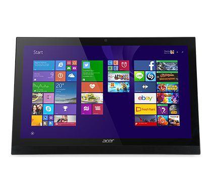 Моноблок ACER Aspire Z1-622, Intel Celeron N3150, 4Гб, 500Гб, Intel HD Graphics, DVD-RW, Free DOS, черный [dq.sz8er.003]