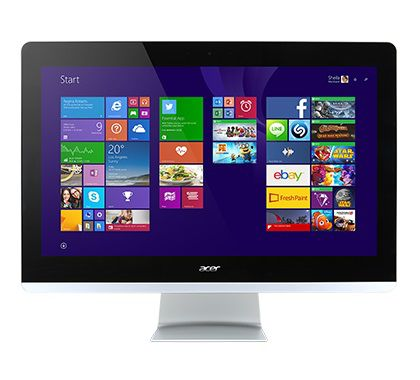Моноблок ACER Aspire Z3-710, Intel Core i3 4170t, 4Гб, 1000Гб, nVIDIA GeForce GT840M - 2048 Мб, DVD-RW, Windows 8.1, черный [dq.b04er.002]
