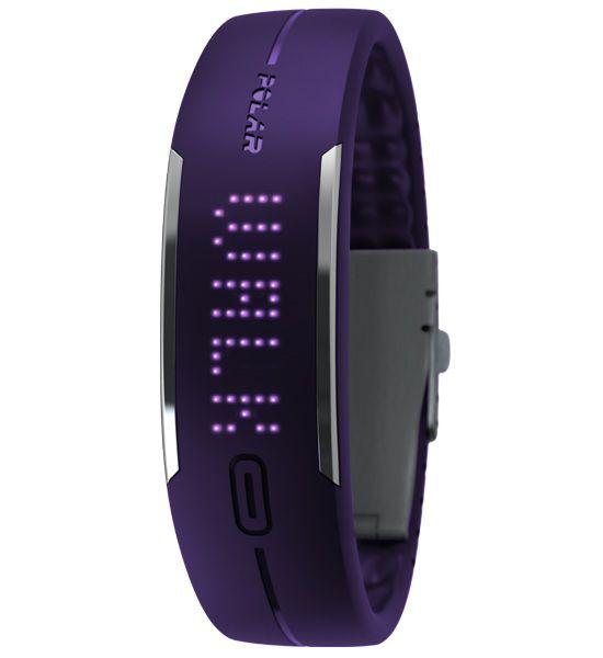 Шагомер наручный Polar Loop фиолетовый [90052236]