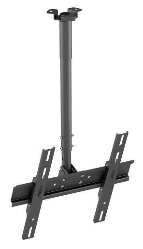 """Кронштейн для телевизора Holder PR-101-B черный 32""""-65"""" макс.60кг потолочный фиксированный"""