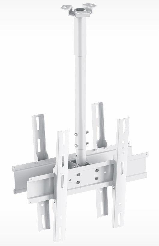 """Кронштейн для телевизора Holder PR-102-W белый 32""""-65"""" макс.90кг потолочный фиксированный"""