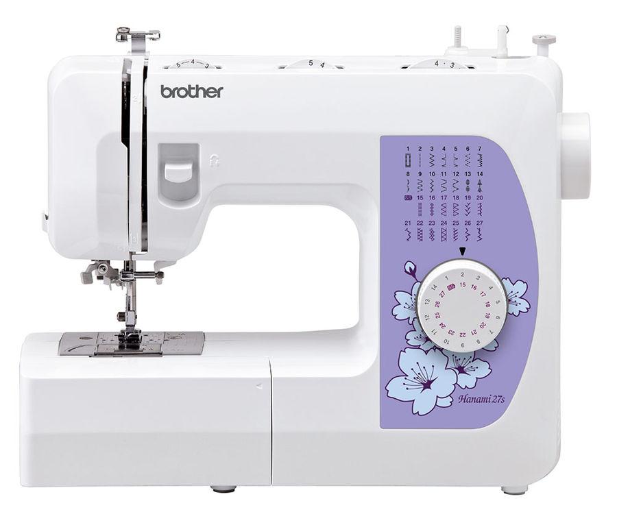 Швейная машина BROTHER Hanami 27s белый [hanami27s]