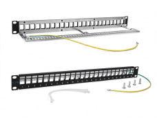 "Патч-панель наборная Lanmaster (TWT-PP24OK-STP) 19"" 1U 24xRJ45 FTP"