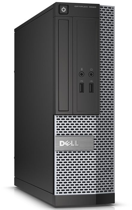 Компьютер  DELL Optiplex 3020,  Intel  Core i3  4160,  DDR3 4Гб, 500Гб,  Intel HD Graphics 4400,  DVD-RW,  Windows 7 Professional,  черный и серебристый [3020-6842]