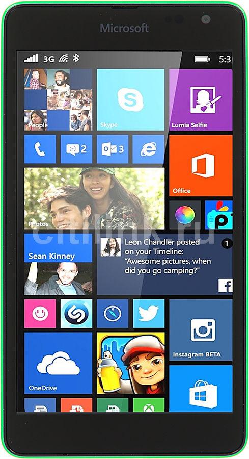 Смартфон MICROSOFT Lumia 535 Dual Sim зеленый