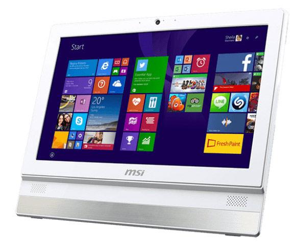 Моноблок MSI Adora 2BT-032RU, Intel Celeron J1900, 2Гб, 500Гб, Intel HD Graphics, DVD-RW, Windows 8.1, белый [9s6-aaa712-032]