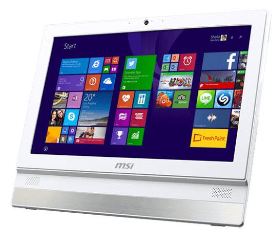 Моноблок MSI Adora 2BT-031RU, Intel Celeron J1900, 4Гб, 500Гб, Intel HD Graphics, DVD-RW, Free DOS, белый [9s6-aaa712-031]