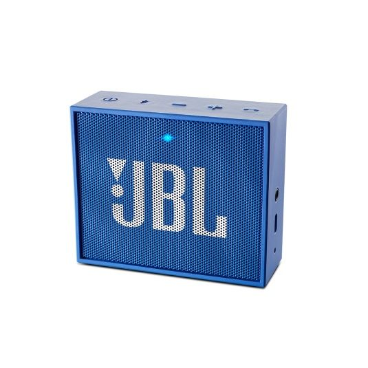 Портативные колонки JBL GO,  синий [jblgoblue]