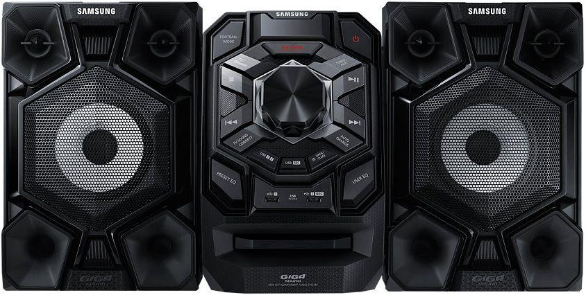 Музыкальный центр SAMSUNG MX-J630/RU,  черный