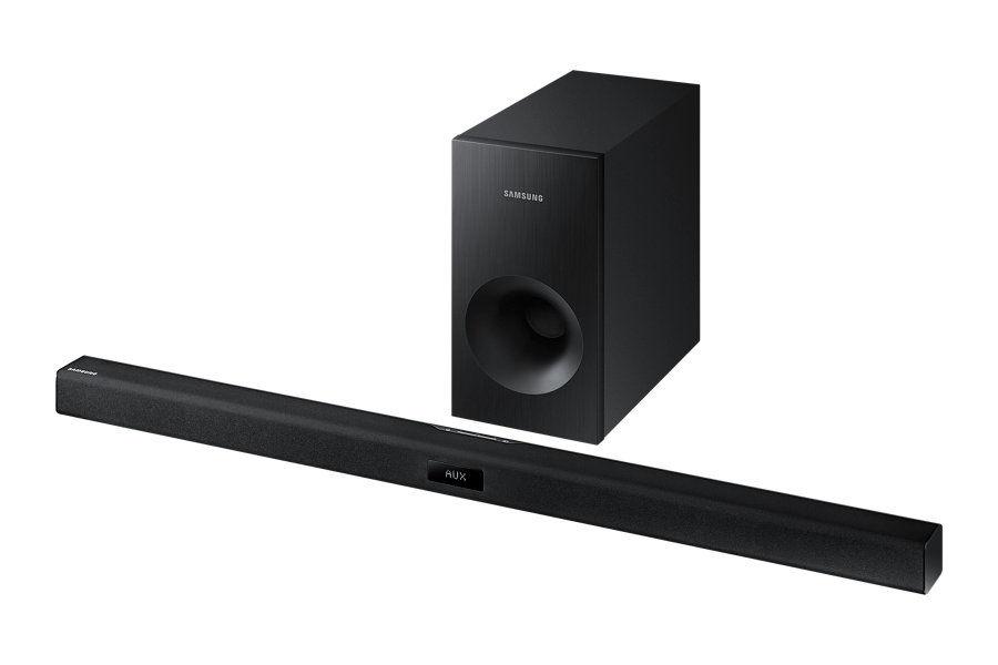 Звуковая панель SAMSUNG HW-J355/RU,  черный