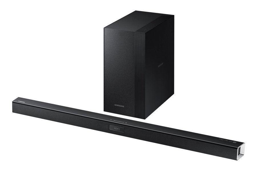 Звуковая панель SAMSUNG HW-J450/RU,  черный