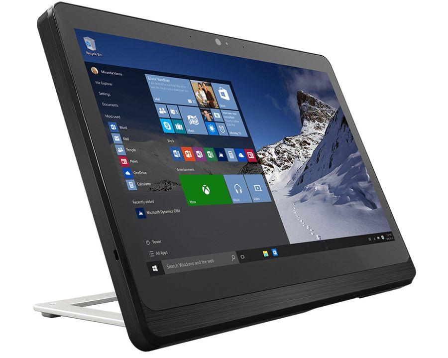Моноблок MSI AP16 Flex-017RU, Intel Celeron J1900, 4Гб, 500Гб, Intel HD Graphics, Windows 8.1, черный и серебристый [9s6-a62213-017]
