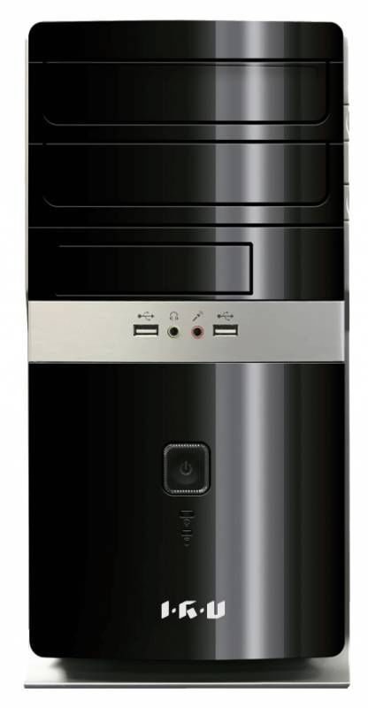Компьютер  IRU City 310,  Intel  Core i3  4330,  DDR3 4Гб, 500Гб,  Intel HD Graphics 4600,  DVD-RW,  Free DOS,  черный [299202]