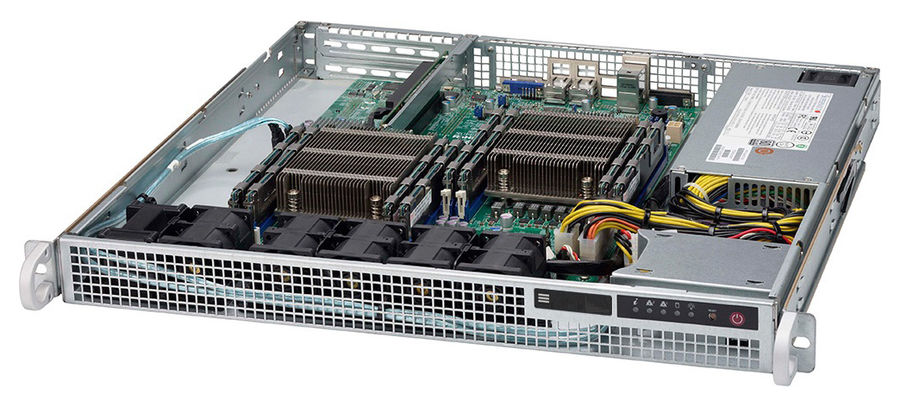 Платформа SuperMicro SYS-6018R-MDСерверы<br><br>