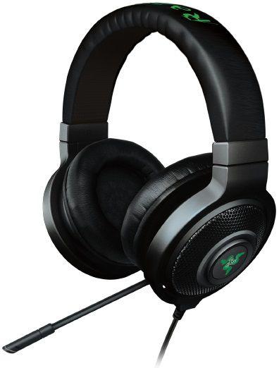 Наушники с микрофоном RAZER Kraken 7.1 Chroma,  мониторы, черный  [rz04-01250100-r3m1]