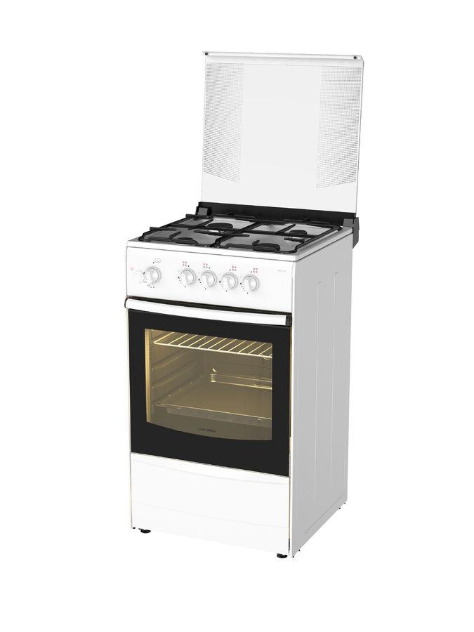 Газовая плита DARINA 1B GM 441 008 W,  газовая духовка,  белый