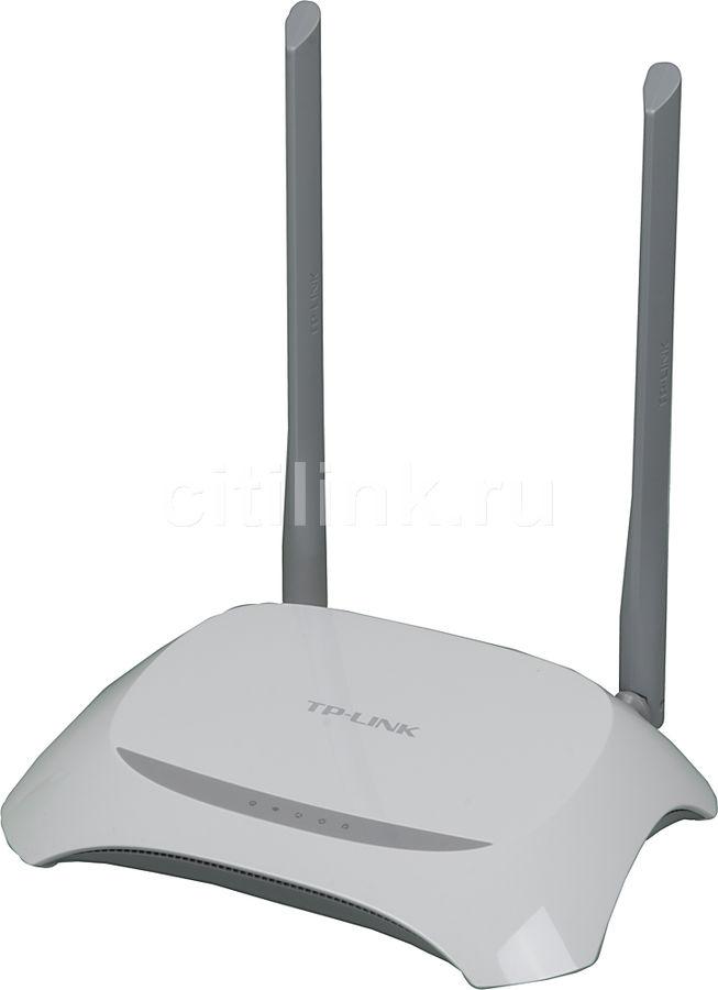 Беспроводной роутер TP-LINK TL-WR840N,  белый