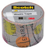 Клейкая лента декоративная 3M Scotch Washi 7000048132 путешествие шир.30мм дл.10м