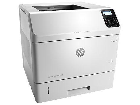 Принтер HP LaserJet Enterprise 600 M605n лазерный, цвет:  белый [e6b69a]