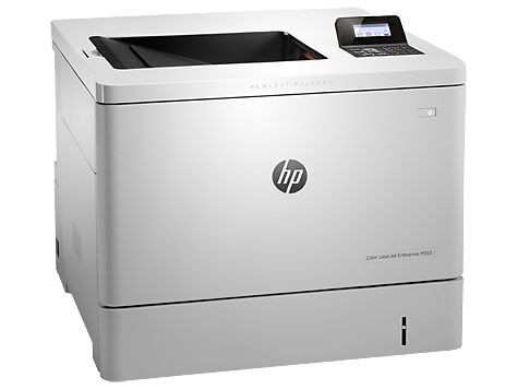 Принтер HP Color LaserJet Enterprise M552dn лазерный, цвет: белый [b5l23a] принтер лазерный hp color laserjet enterprise m553x