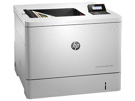 Принтер HP Color LaserJet Enterprise M553n лазерный, цвет:  белый [b5l24a]