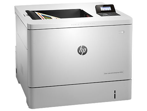 Принтер HP Color LaserJet Enterprise M553dn лазерный, цвет: белый [b5l25a] принтер hp color laserjet enterprise m553dn