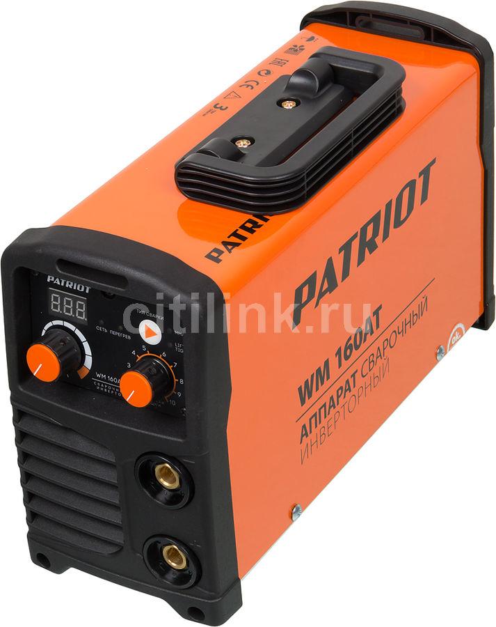 Сварочный аппарат инвертор PATRIOT WM 160AT [605302616]