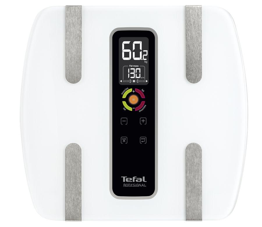Весы TEFAL BM7100S6, до 160кг, цвет: белый [2100086689]