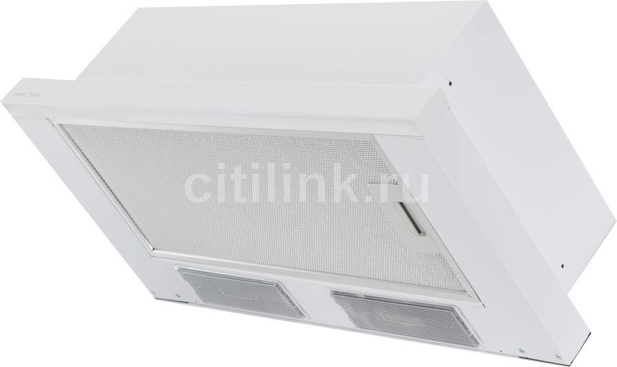 Вытяжка встраиваемая Krona Kamilla 600 белый управление: кнопочное (1 мотор)
