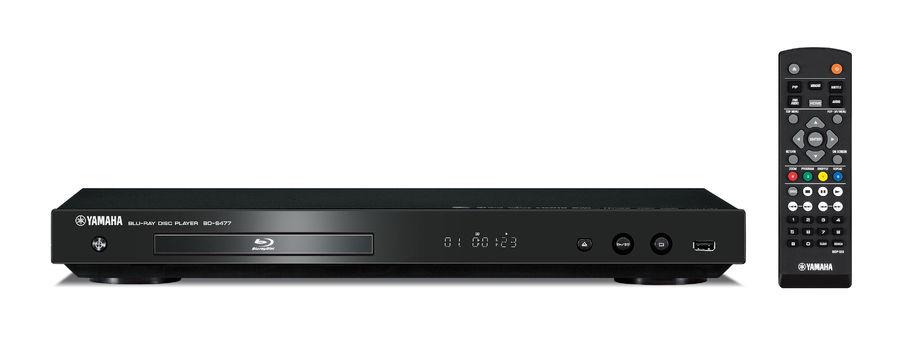 Плеер Blu-ray YAMAHA BD-S477, черный [abds477blf]