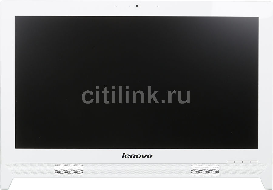 Моноблок LENOVO C260, Intel Celeron J1800, 4Гб, 500Гб, Intel HD Graphics, DVD-RW, Free DOS, белый [57331763]