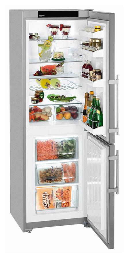 Холодильник LIEBHERR CUPsl 3221,  двухкамерный,  серебристый